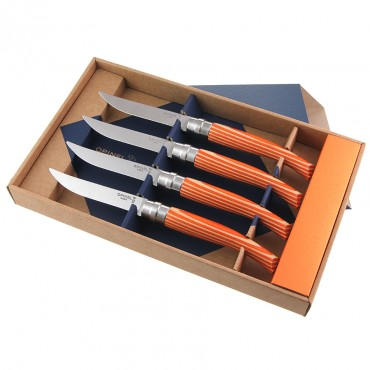 Couteaux de table Opinel tangerine