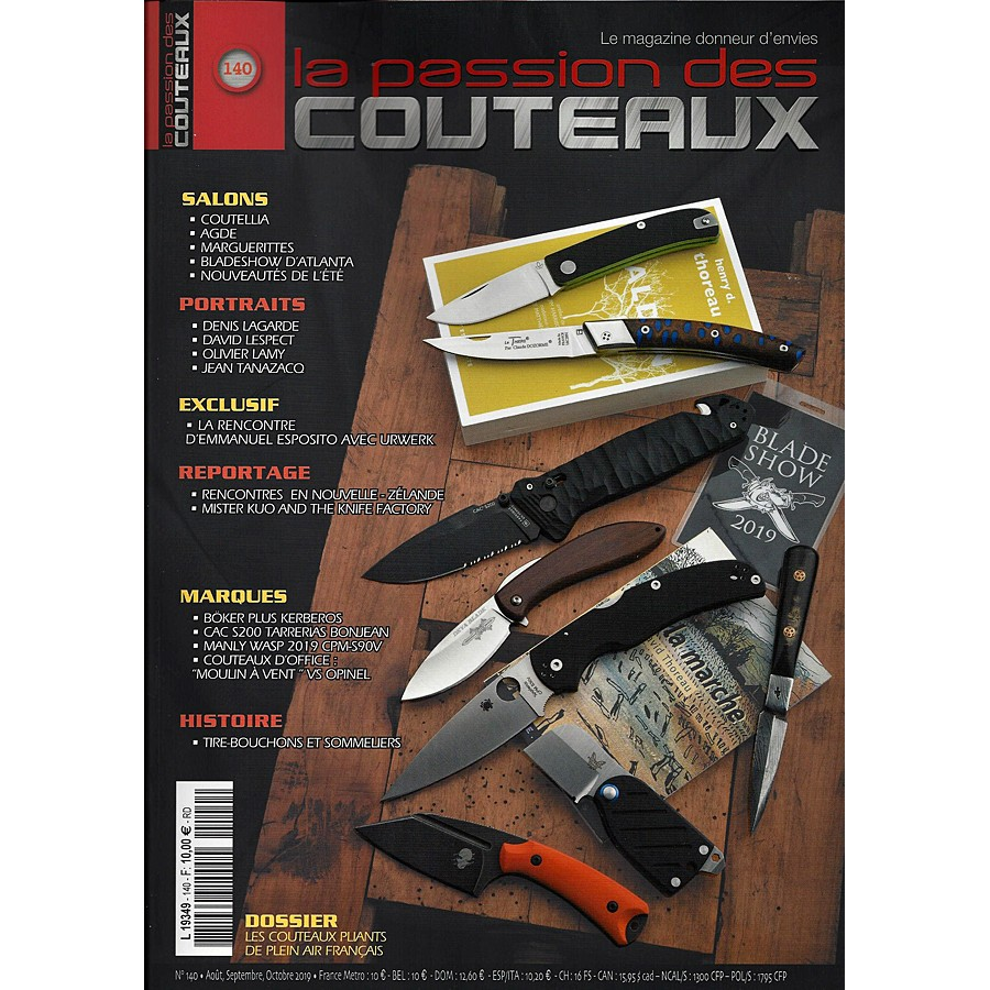 Passion des couteeaux N°140