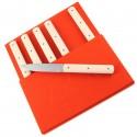 Coffret de six couteaux de table 9.47 Polyacétal - Perceval
