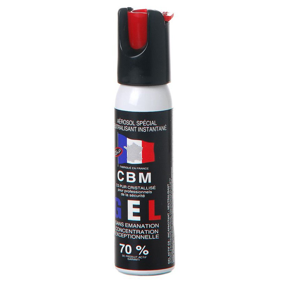 Bombe de Défense CBM 25 ml GEL CS