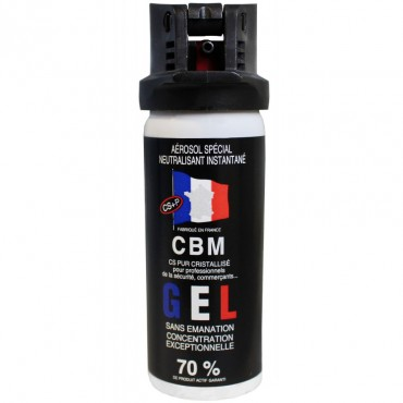 Bombe de Défense CBM 50 ml GEL CS