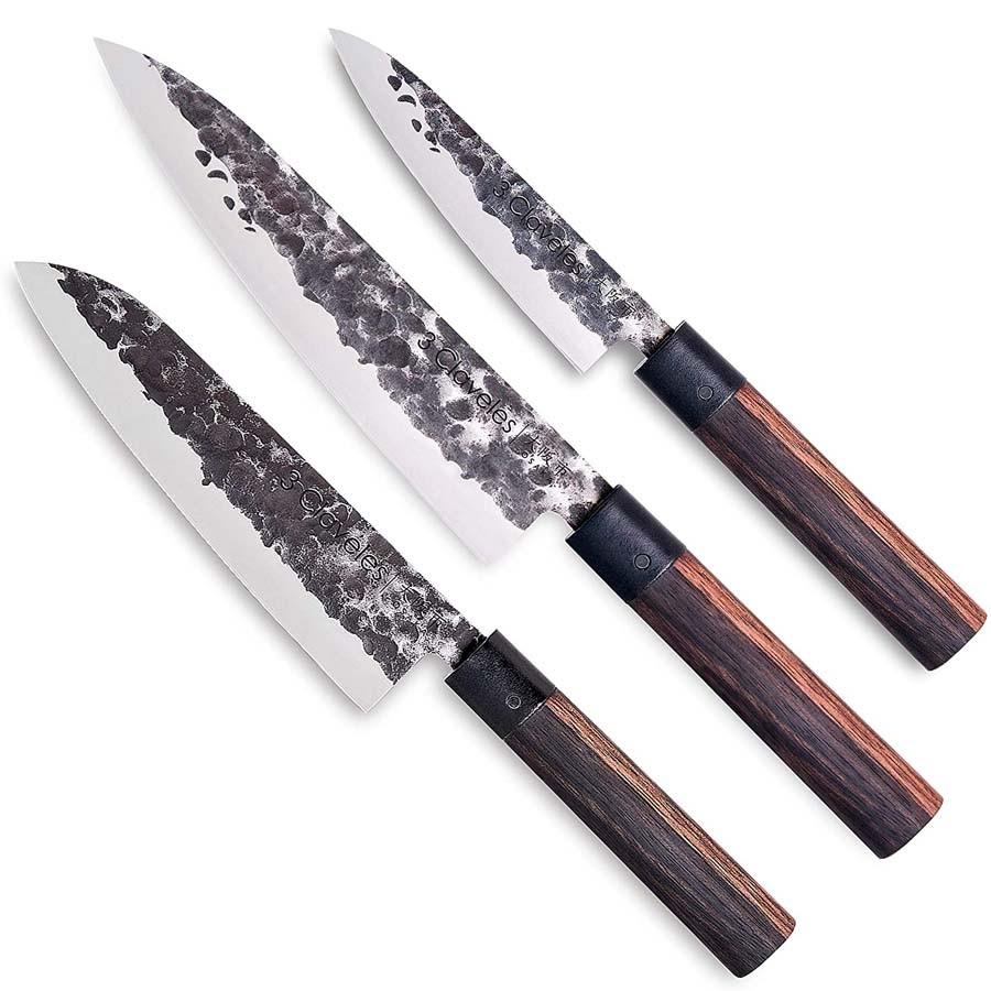 Lot de 3 Couteaux Osaka - 3 Claveles