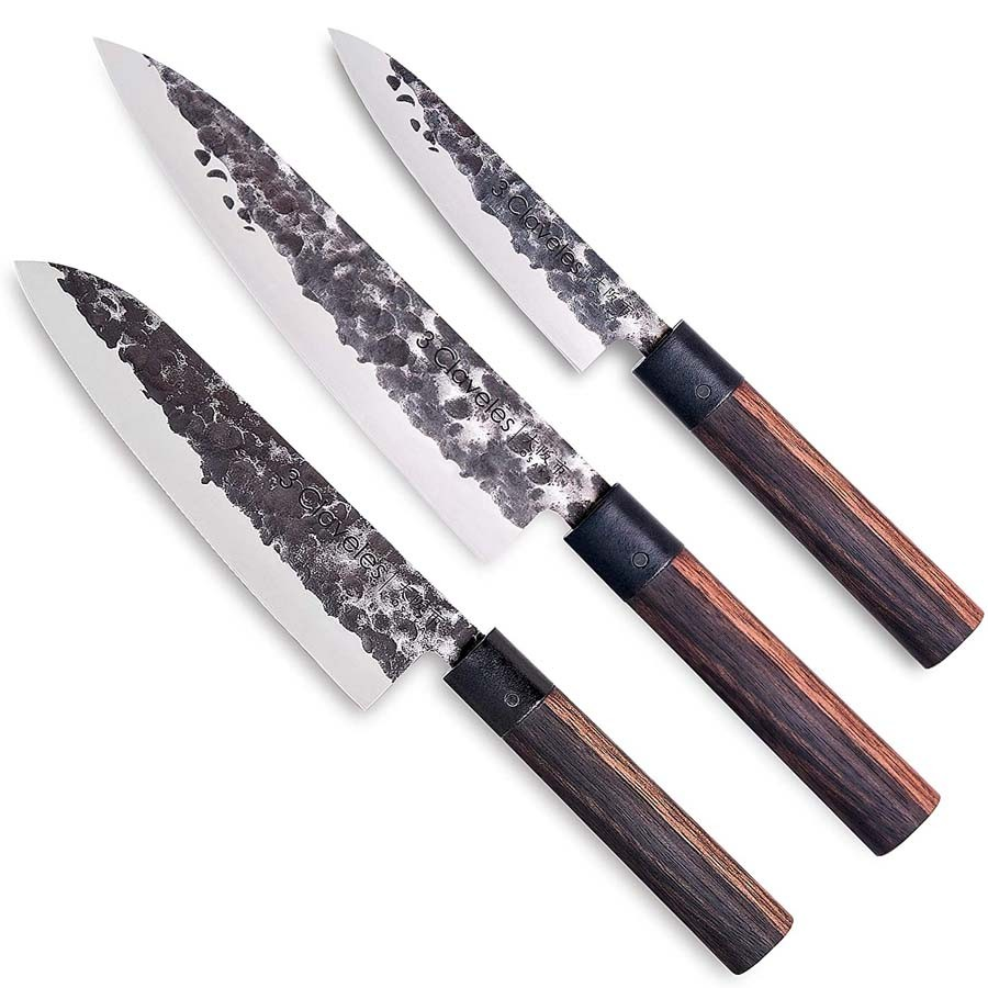 Set of 3 Kitchen's Knives Osaka - 3 Claveles