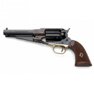 Remington - 1858 Jasper Steel Black Powder Revolver Replica - Pietta