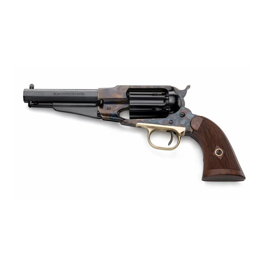 Remington - 1858 Jasper Steel Black Powder Revolver Replica - Pietta