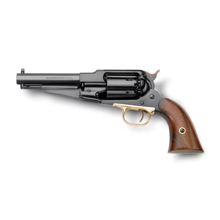 Remington 1858 Canon court - Revolver Poudre Noire Cal. 44 - Pietta