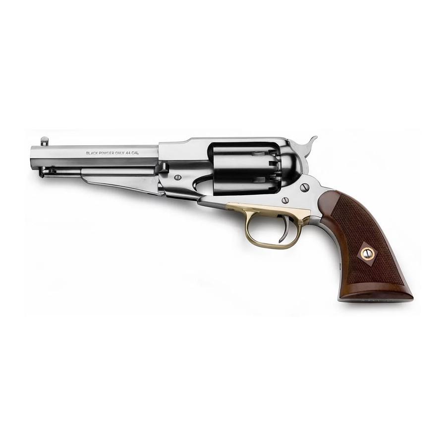 Remington 1858 Stainless Satin Finish - Black Powder Revolver - Pietta