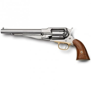Remington 1858 Stainless Satin Finish - Black Powder Revolver - Pietta