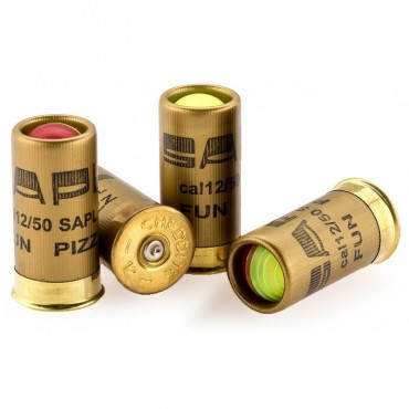 FUN PIZZ - Pepper Ball - Cal. 12/50 Cartridge - 4 counts - SAPL