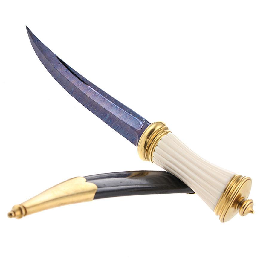 Mameluk Knife Damascus - Gérard Doursin